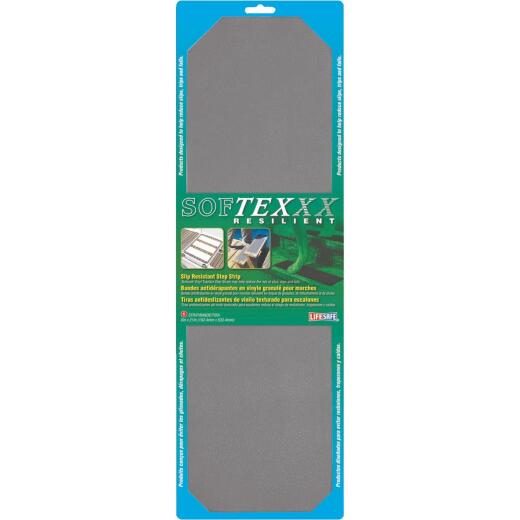 Softex 6 In. x 21 In. Gray Safety Tread