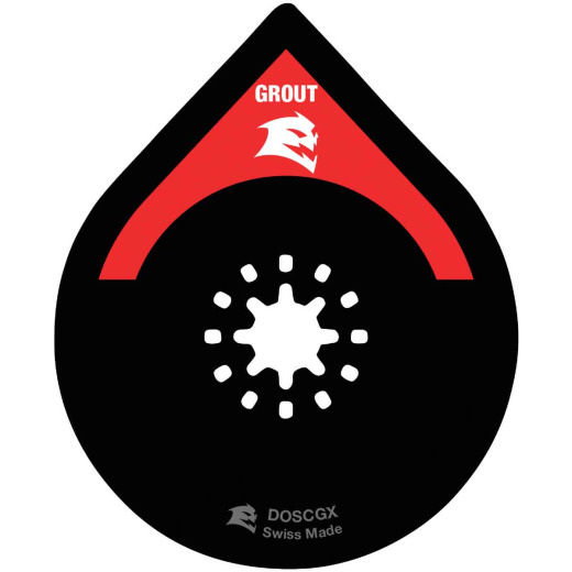 Diablo Starlock 2-3/4 In.  Carbide Grit Oscillating Blade for Grout and Mortar