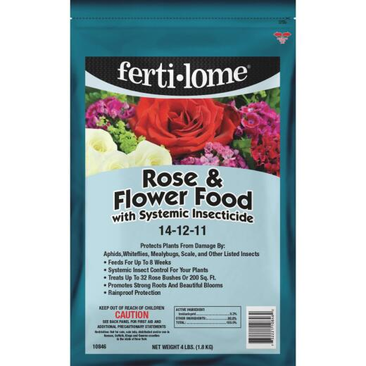 Ferti-lome 4 Lb. 14-12-11 Rose & Flower Dry Plant Food