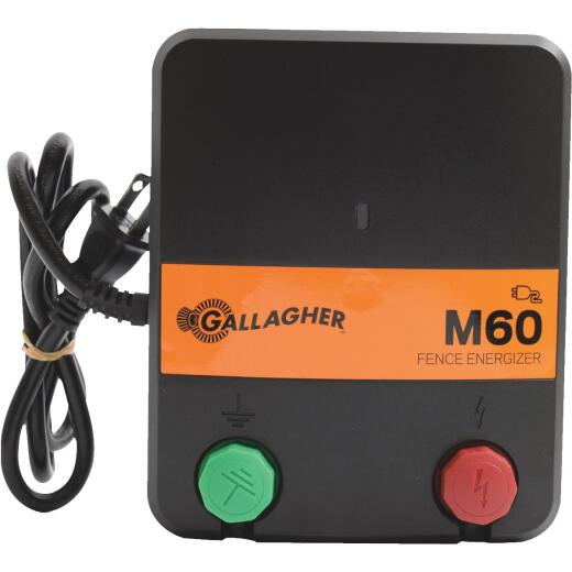 Gallagher M60 40-Acre Electric Fence Charger