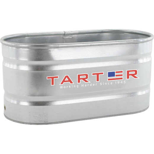 Tarter 100 Gal. Zinc-Coated Steel Galvanized Stock Tank