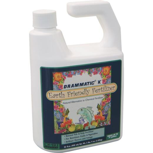 Drammatic 1 Qt. Organic Concentrate Liquid Plant Food
